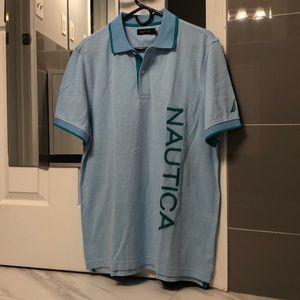 NWT Men's Nautica Polo T-Shirt